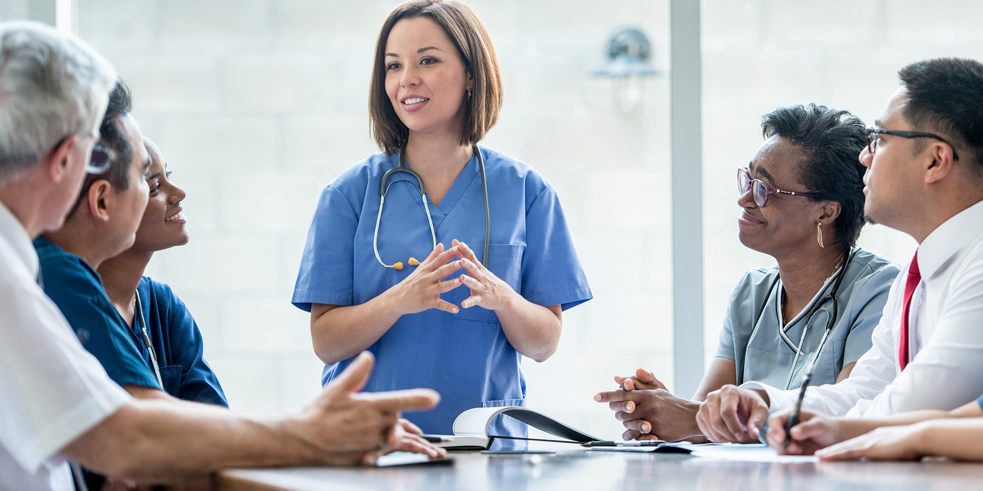 Physicians Discussing Standard of Care